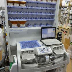 調剤機器のイメージ
